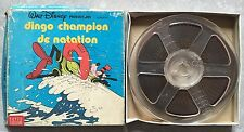 Film Super 8 Couleurs DINGO CHAMPION DE NATATION Walt Disney