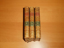 greek mythology complete 3 antique books 1797 Demoustier nice leather binding