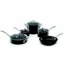 Brand New Calphalon 9 Piece Cookware Set Commercial Professional Nonstick Set