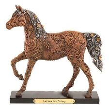 Trail of Painted Ponies CARVED IN HISTORY FIGURINE New in Box, LOW 1st Edition
