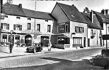 21 ARNAY-LE-DUC CARTE POSTALE HOTEL DE PARIS PEUGEOT 201 POMPE ESSENCE ESSO 1966
