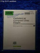 Sony Bedienungsanleitung CDX C5850R CD Player (#3226)