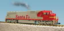 USA Trains G Scale SD70 MAC Diesel Locomotive R22600 Santa Fe Warbonnet - Red/Si