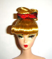 Nude Barbie Doll Yuletide Yummies Blonde Updo Repro Barbie Doll w/Stand yy1