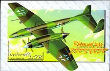 Unicraft Models 1/72 BLOHM UND VOSS ZEROSTORER German WWII Fighter Project