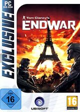 Tom Clancy's Clancys Endwar End War - Weltkrieg Simulation Pc Neu/Ovp/Deutsch
