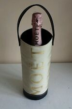 Vintage Moet & Chandon Champagne Wine Bottle Carrier  Cooler W Handle