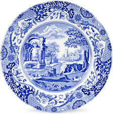 SPODE BLUE ITALIAN 4 DINNER PLATES 27cm - NEW/UNUSED