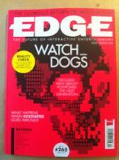 Edge April  2014 FREE SHIPPING, Wolfenstein, Kickstarter, Thief, Strider, TXK