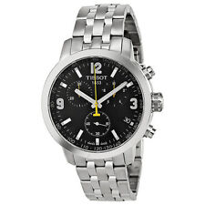 New Tissot PRC 200 Quartz Chronograph Stainless Steel Men's Watch T0554171105700