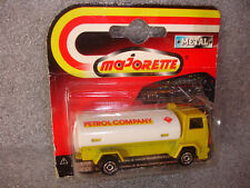 Collectible Majorette Metal Petrol Gas Company Delivery Toy Trailer Truck