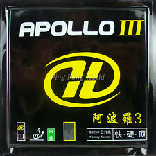 Yinhe Galaxy Apollo III Factory Tuned Pips In Table Tennis Rubber