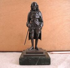 Bronze Sculpture Voltaire Figure After Jean-Claude Rosset Vintage Antique French