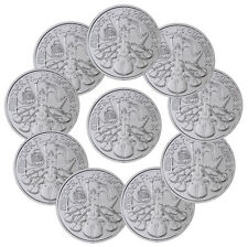 2017 Austria 1.5 Euro 1 oz. Silver Philharmonic - Lot of 10 Coins SKU44897