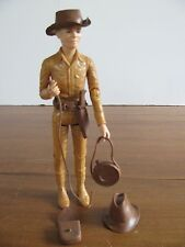 Vintage 1960s Marx Johnny / Jay West Action Figure W/ Accessories #2062B VG