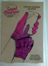 Sound BoutiqueTouch Screen Glove for Smart Phones & Tablet Fab Mothers Day Gift!