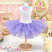 ☆╮Cool Cat╭☆145.【PC-04】Blythe/Pullip Tulle Ball Mini Skirt # Purple