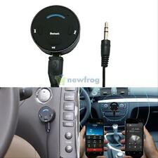 3.5mm Aux in Bluetooth 4.0 Car Kit Hands-free Speakerphone Audio Receiver USB TF