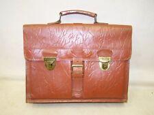 Old School Bag Leather Briefcase Leather Bag Satchel Vintage