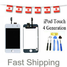 Replacement Touch Screen LCD Digitizer Assembly For White iPod touch 4+Tools Kit