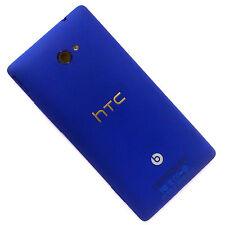 100% Genuine HTC 8X rear fascia housing+camera glass back cover blue