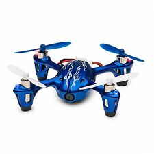 Hubsan X4 H107C 2.4G 4CH RC Quadcopter With HD 2 MP Camera RTF -Royal Blue/White