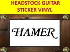 HAME BLACK STICKER GUITAR PEGATINA ADESIVO VISIT OUR STORE WITH MANY MORE MODELS