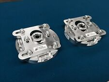 ESCORT & SIERRA COSWORTH  BILLET ALUMINIUM ADJUSTABLE TOP MOUNTS INC WRC & RALLY