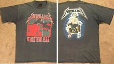 1990 Metallica T-Shirt L/XL Kill Em All Ride The Lightning Vtg megadeth exodus