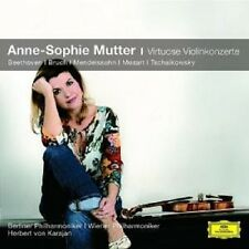 "ANNE-SOPHIE MUTTER ""VIRTUOSE VIOLINKONZERTE"" CD NEU"