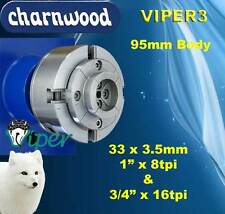 "Woodturning Charnwood VIPER3 Woodturning Chuck 3/4"" x 16tpi Thread"