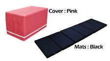 MULTI PURPOSE MAGIC BOX CUSHION FOLDABLE PLAY MATS FOR BABY TODDLER PINK COLOR