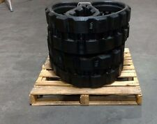 1- Pair Bobcat T-180 and T190 Rubber Tracks