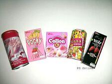 Japanese STRAWBERRY Lover Snack Set [Pocky, Collon, Koala March, Redondo]