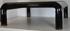 Solíamos Aulenti for Knoll sofá mesa coffee-Table mesa 70er acero negro