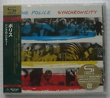 THE POLICE - Synchronicity JAPAN SHM CD OBI NEU RAR! UICY-90742 SEALED