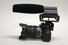 Pro VM XL DSLR directional stereo shotgun video mic for Canon 80D 70D 60D 7D