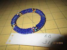 Maasai bead Bangle Bracelet Kenya African Jewelry africa seed masi art bb 311