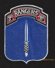 3RD RANGERS BATTALION HAT PATCH US ARMY FORT BENNING PIN UP 75TH RANGER REGIMENT