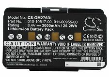 8.4V Battery for Garmin EGM478 GPSMAP 276 GPSMAP 276c 010-10517-00 Premium Cell
