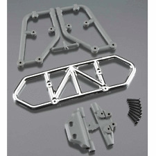 RPM Chrome Rear Bumper: Traxxas 1/10 Slash 4x4 RPM80123