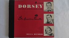 "Jimmy Dorsey - 78rpm set - ""Latin American Favorites DECCA #540"