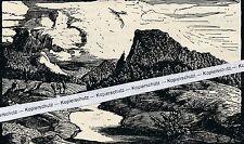 Donautal - Hans Otto Schönleber - Kunstdruck - selten  M 3-10