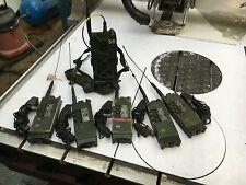 Platoon & Squad Radio Comms setup Clansman Military PRC350 & PRC349 x5 Set. GWO
