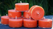 10pk 120hr/pack LIMES, FIG & CAJU FRUIT Triple Scented ECO SOY TEA LIGHT CANDLES