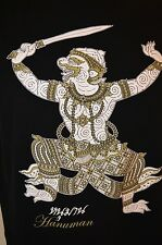 Hanuman Hindu My Dream God Thai Thailand Hinduism Yoga Meditation Mens L T-Shirt