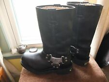 Harley Davidson Mens Leather Boots Size (6)