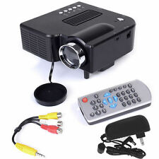 Mini Portable Home Theater PC 1080PHD Multimedia USB LED Projector AV TVVGA HDMI