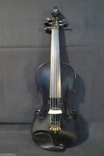 Beautiful Black colors 5 strings electric & acoustic violin 4/4 ,#7365