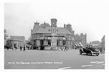 pt4829 - Goole , Square and Clock Tower , Yorkshire - photo 6x4